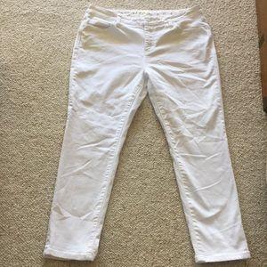 Kate spade white women's jeans